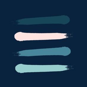 Dark Blue Paint Swatches