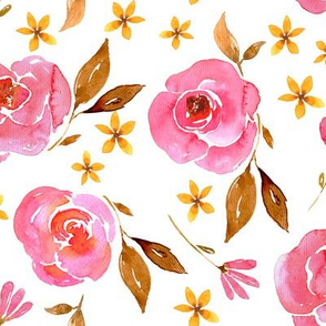 Watercolor Floral Pattern No. 2