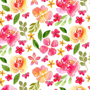 Watercolor Floral Pattern No. 3