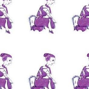 tiny lady