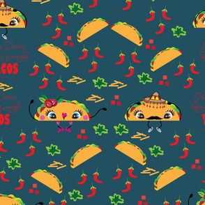 Happy Dance 4 Tacos large print