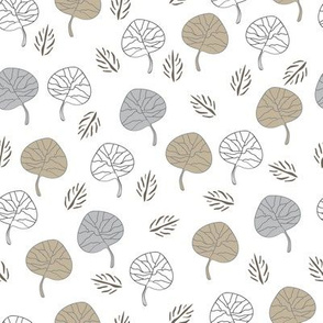 Leaves Collection-Nature Spirit Seamless Repeat Pattern