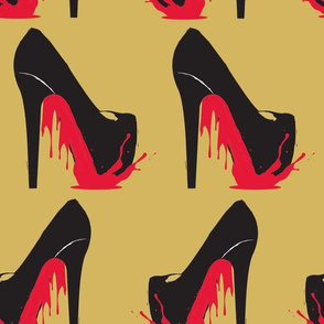 Bloody Red Bottoms