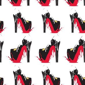 Blood shoes meltdown