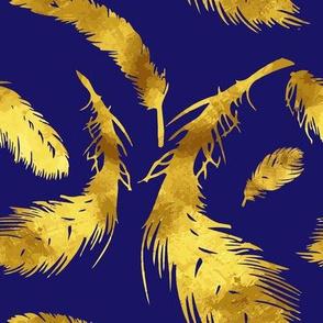 Golden Azul feather