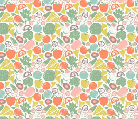 Swedish Tacos fabric by helena_nilsson on Spoonflower - custom fabric