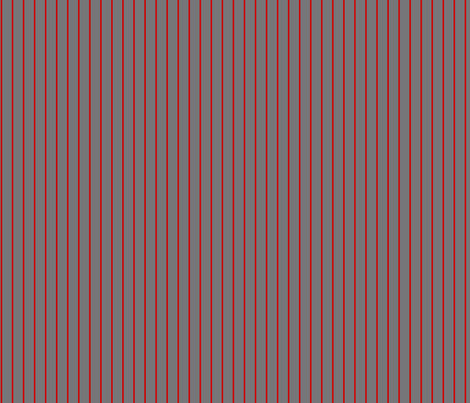 gray red pinstripes fabric by elaphus_house on Spoonflower - custom fabric