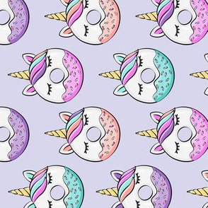 unicorn donuts (light purple) (90) C18BS