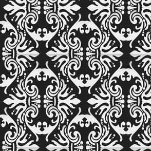 Demask Pattern - Black White-1