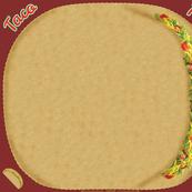 Taco Pillow