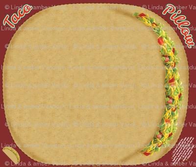 Cut & Sew Taco Pillow