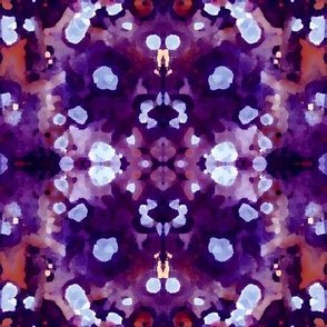 Natural red purple Stone Collage