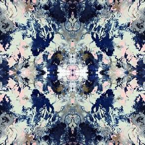 Blue Marble Swirls