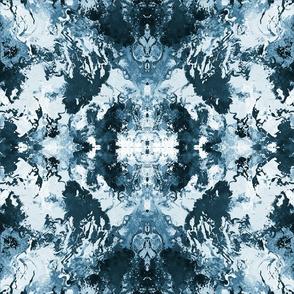 Blue Neutral Swirls