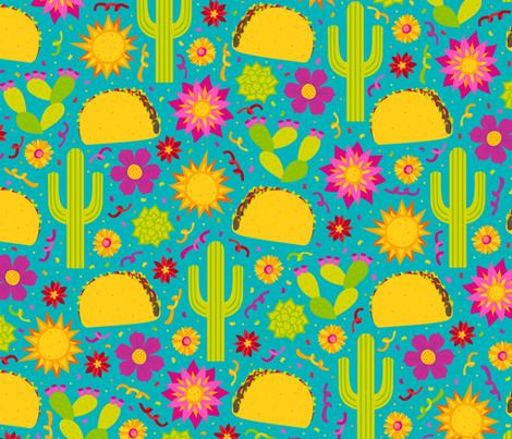 Taco Garden fabric by robyriker on Spoonflower - custom fabric