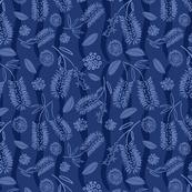 Hampton style bottlebrush pattern