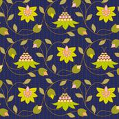 1920s flower design