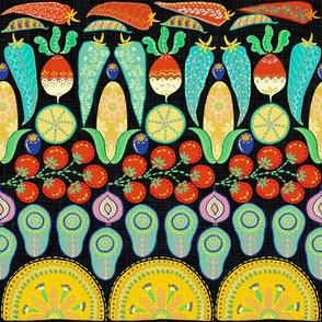 Mexican Taco Folk (black)
