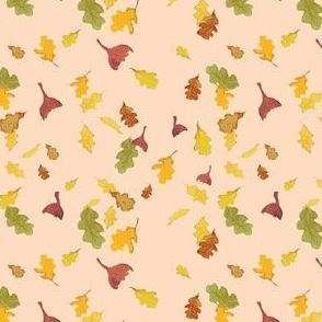 Falling Leaves in pink