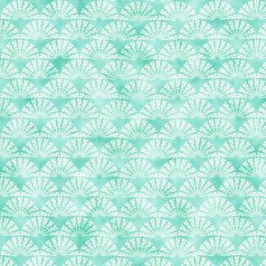 blue decorative watercolor pattern