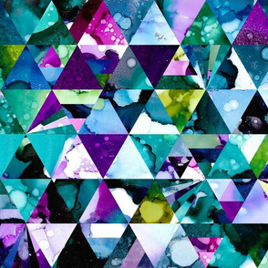 Tessalations in Alcohol Ink