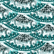 Scallops / Nature / Teal