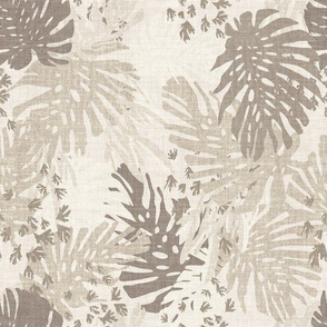 JUNGLE LINEN BEIGE