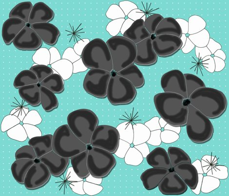 Rpainted-poppies-black-and-white-on-aqua_shop_preview