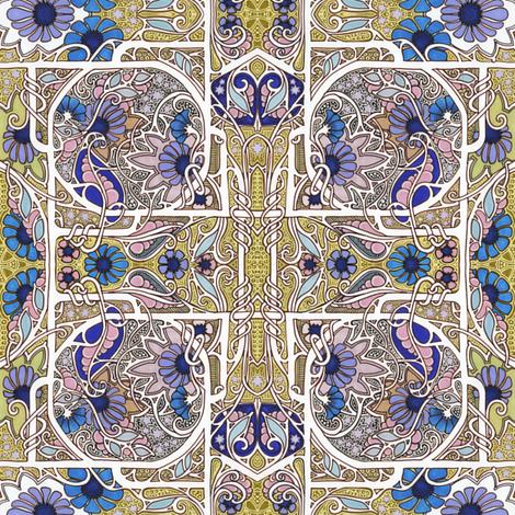 Old English Gardening fabric by edsel2084 on Spoonflower - custom fabric