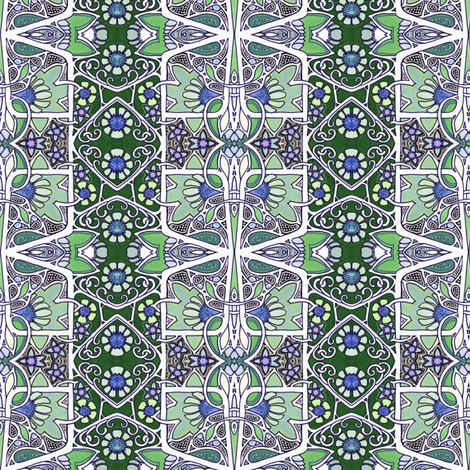 How the Twenties Learned to Roar fabric by edsel2084 on Spoonflower - custom fabric