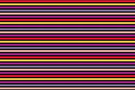 Multi-Color Stripes fabric by ellegarrettdesigns on Spoonflower - custom fabric