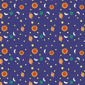 Solar System Small Print