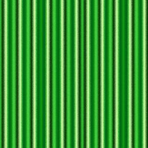 Metalic Stripes Green