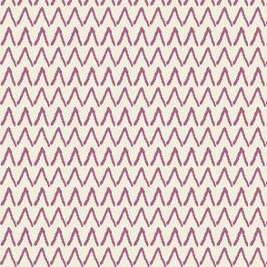 Fun Floral - triangle purple