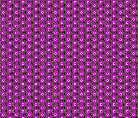 Purple Flowers in Alaska fabric by snow_bird_designs on Spoonflower - custom fabric
