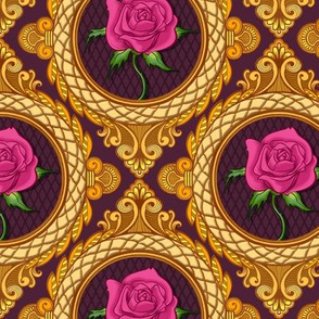 Victorian Rose Frames