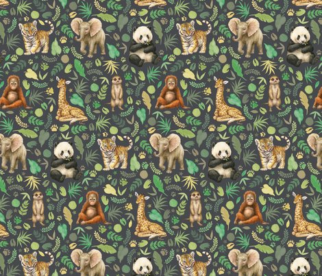 R20180425_wild-animal-babies-fabric-tile_grey_final_shop_preview