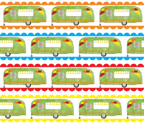 Tacos, Tacos, Tacos fabric by dandd_designs on Spoonflower - custom fabric