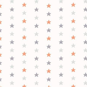 Pastel Tiny Star Shapes