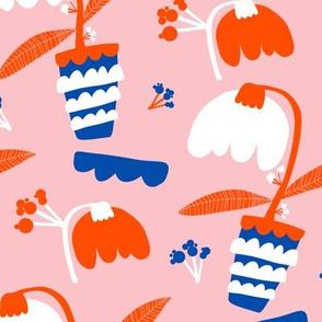 Plant pot - pink