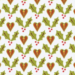 Festive Christmas Holly Berries