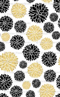 flower power - golden beige