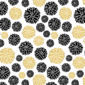 flower power - golden beige