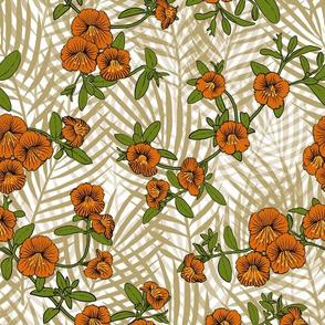 Orange Flower Vine