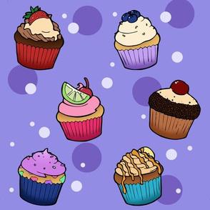 Cupcake Textile
