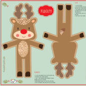 Rudolph Soft Toy