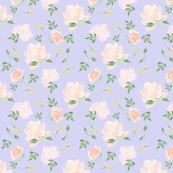 Spoonflower peach peony Pattern lilac 1200 x1200