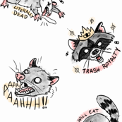 Trash Cat and Trash Panda
