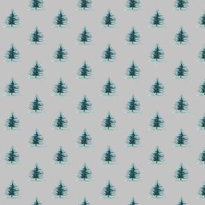 The Little Christmas Tree (Grey)