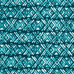 Sonoran Stripe - Oasis Teal